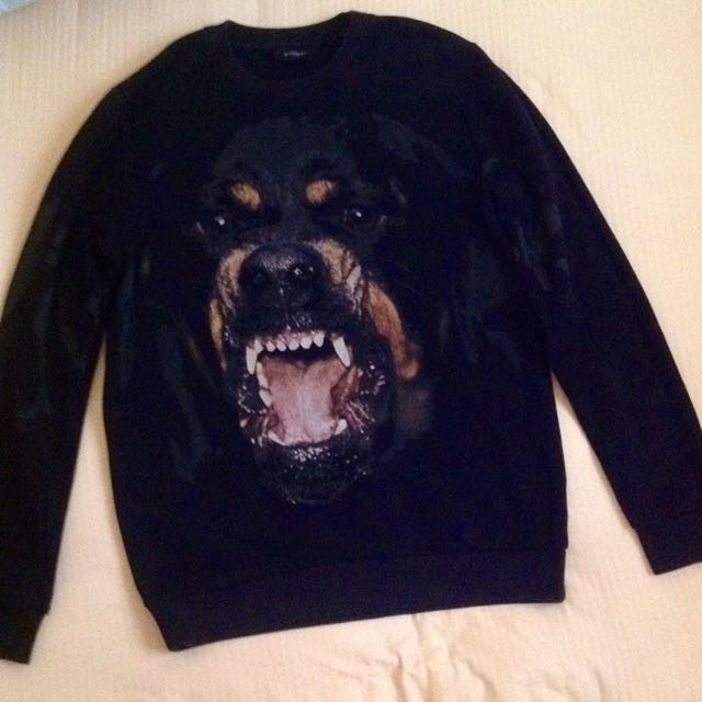 givenchy rottweiler sweater
