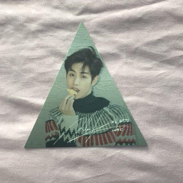 GOT7 7 FOR 7 TRIANGLE PC MARK