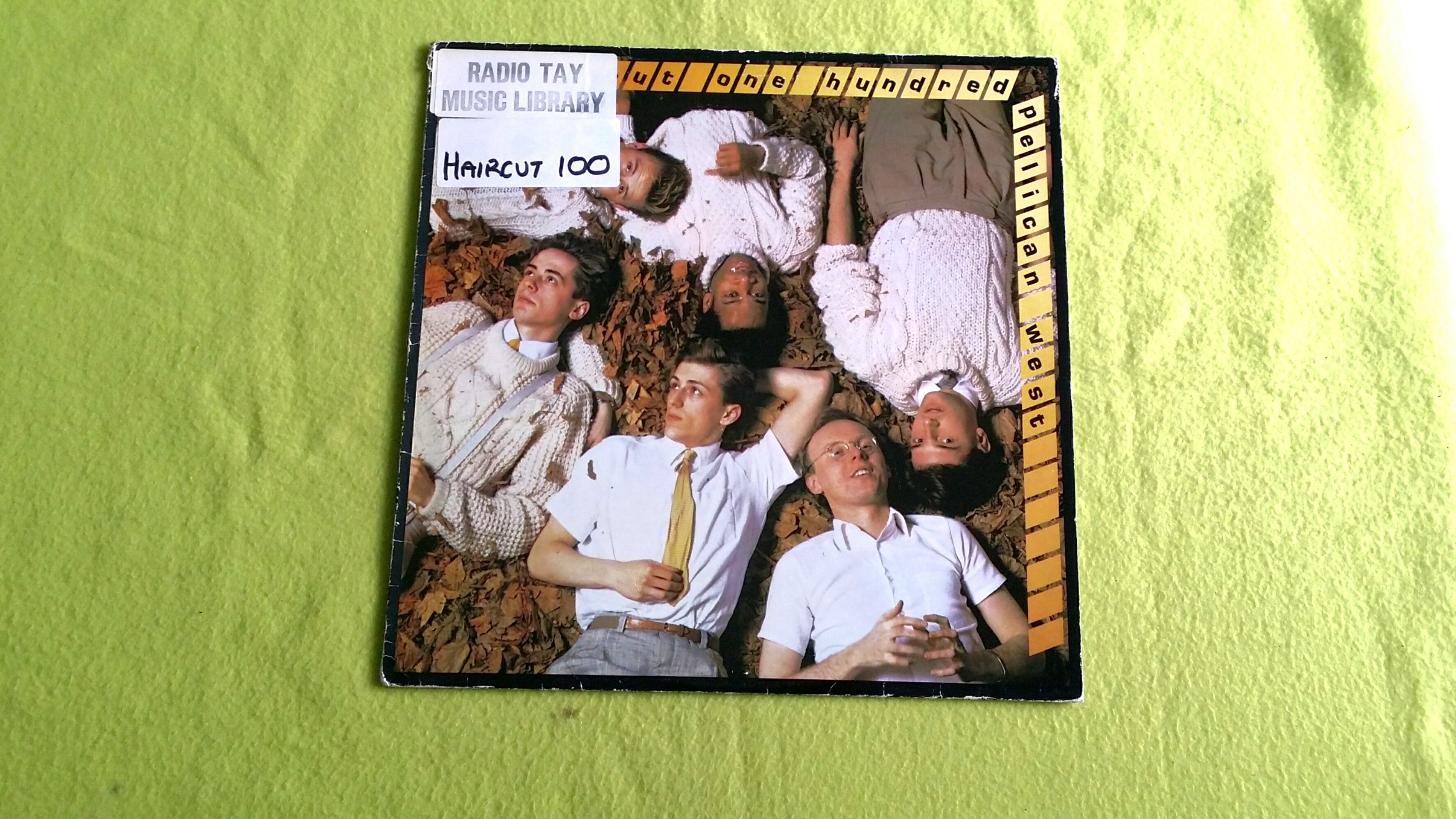 Haircut 100 Pelican West Love Plus One Vinyl Record Vintage