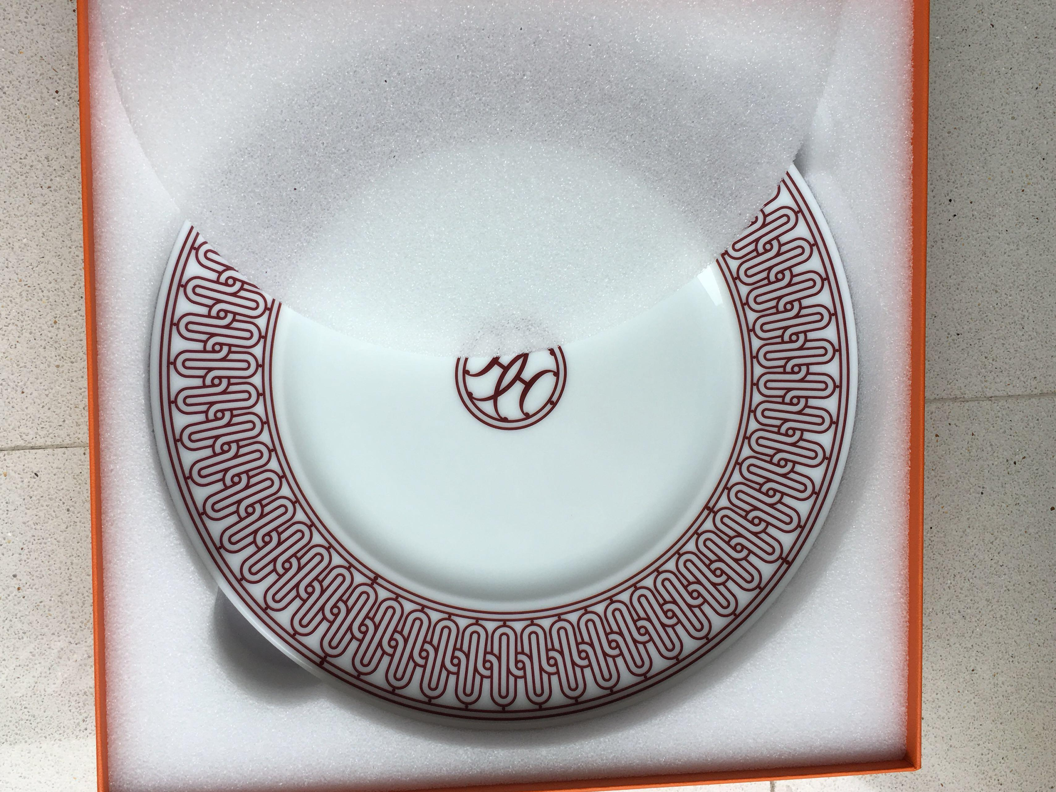 Hermes Plates (2), Home Appliances, Kitchenware on Carousell