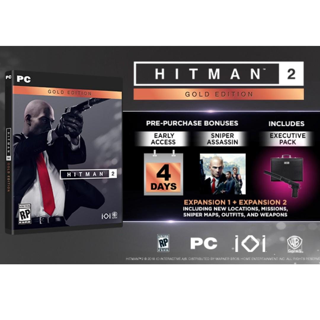 Hitman 2 Gold Edition Toys Games Video Gaming Video