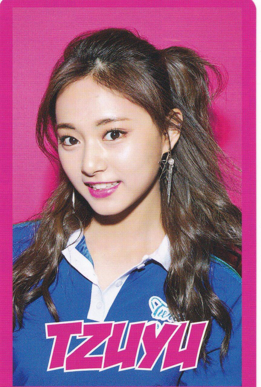 Incoming Instock Twice Tzuyu Omt One More Time Punched Photocard