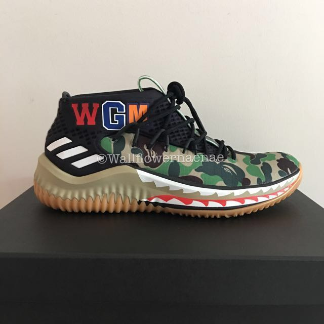 4baa89f811adfc Instock! Last Pair Reduced to Clear) Adidas x BAPE Damian Lillard 4 ...