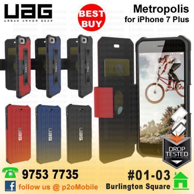 cheap for discount a7272 e3c38 (iPhone 7 Plus) UAG Metropolis for iPhone 7 Plus