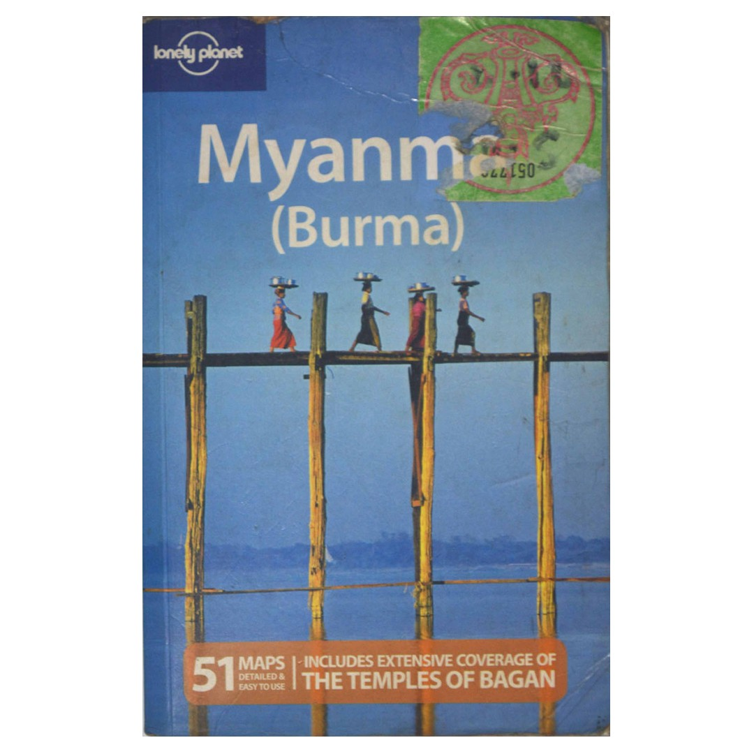 LONELY PLANET - MYANMAR 10th Edition