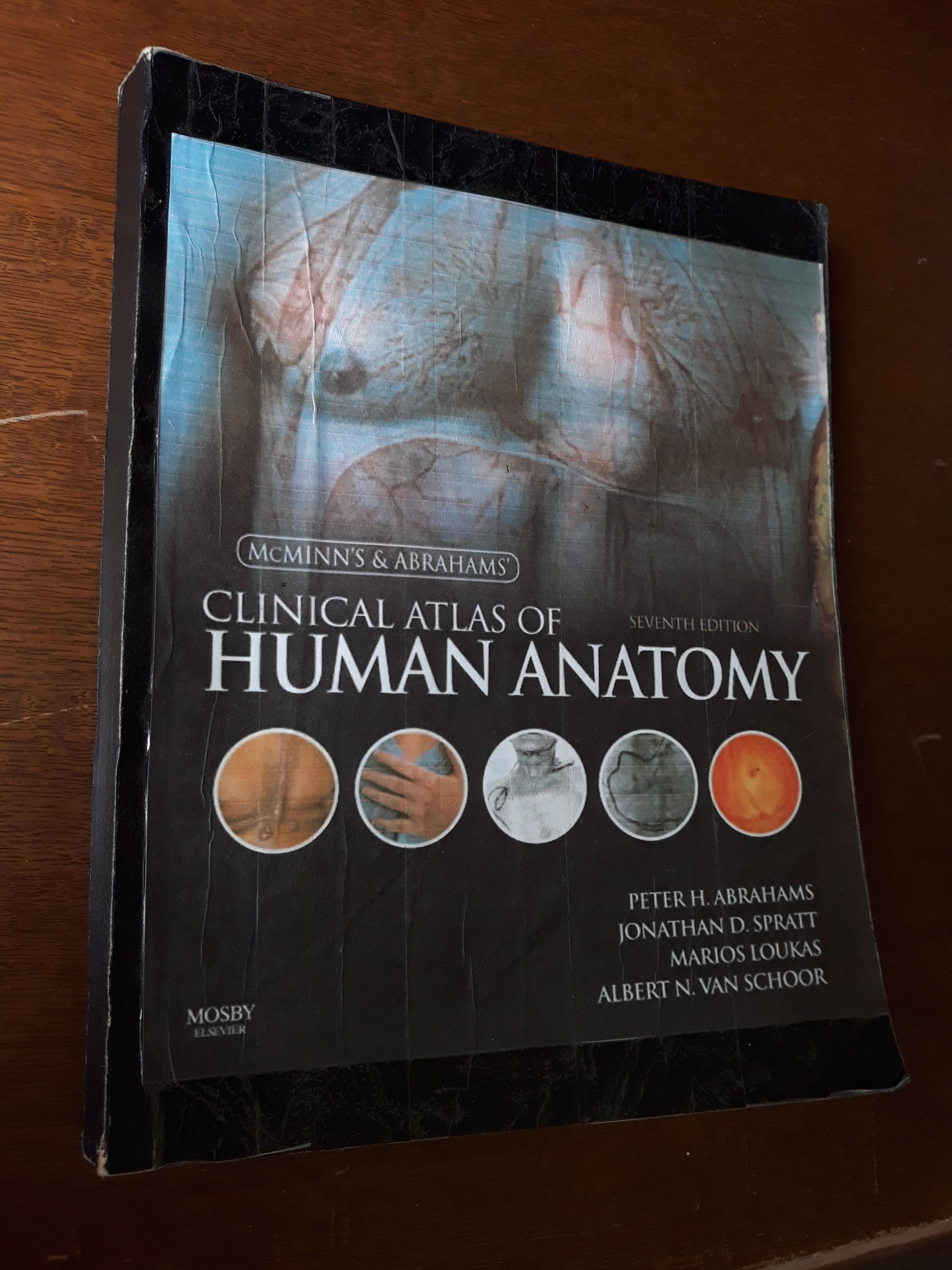 Mcminns Atlas Of Human Anatomy 7th Ed Reprint Textbooks On Carousell