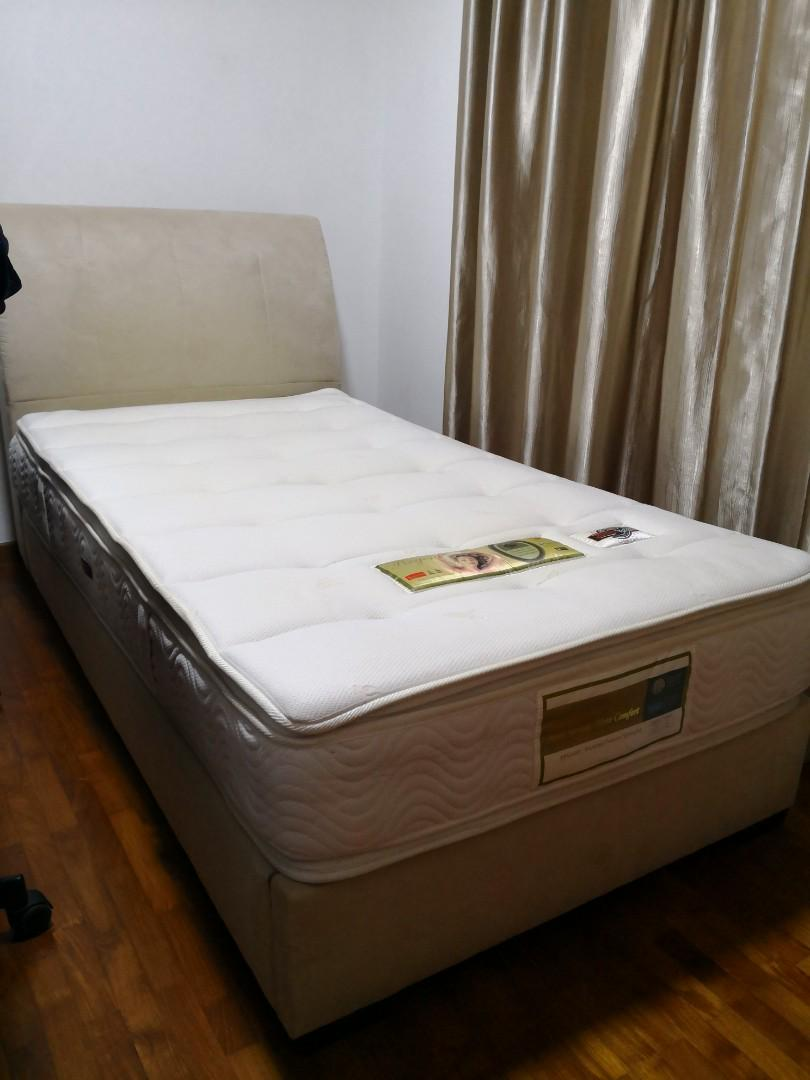 outlet store 40b2a c0265 Moving Sale - SLUMBERLAND (super single) mattress & bedframe ...