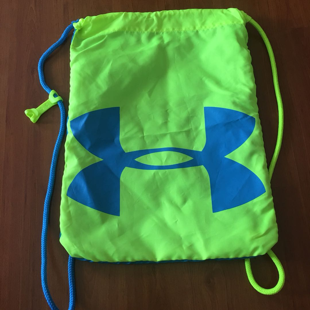 f0b5d03840f8 Preloved Auth Under Armour Drawstring dual color