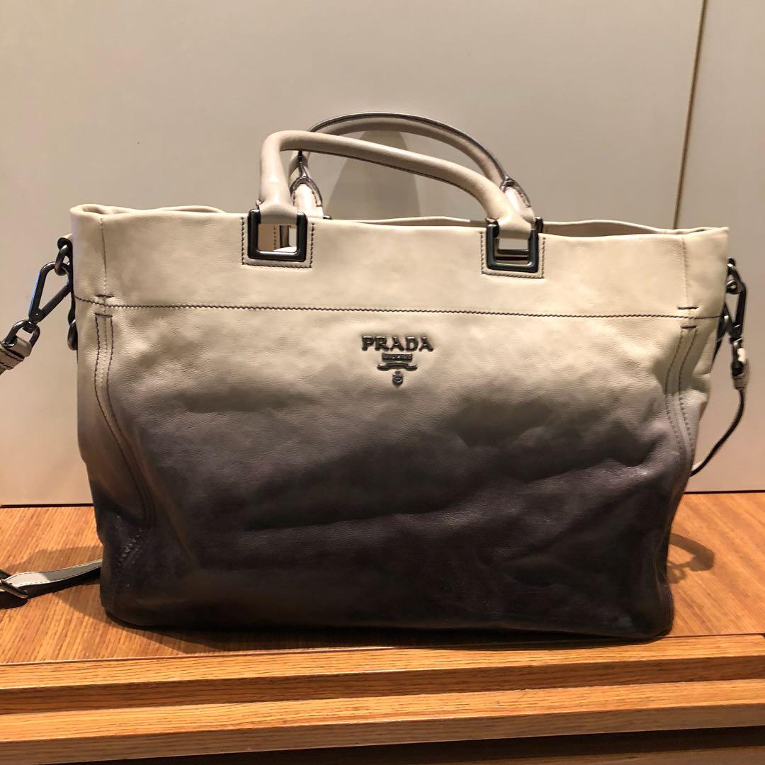 a2690f3af8ee PRELOVED* PRADA BN2081 LEATHER GHIACCIO SLING BAG, Luxury, Bags ...