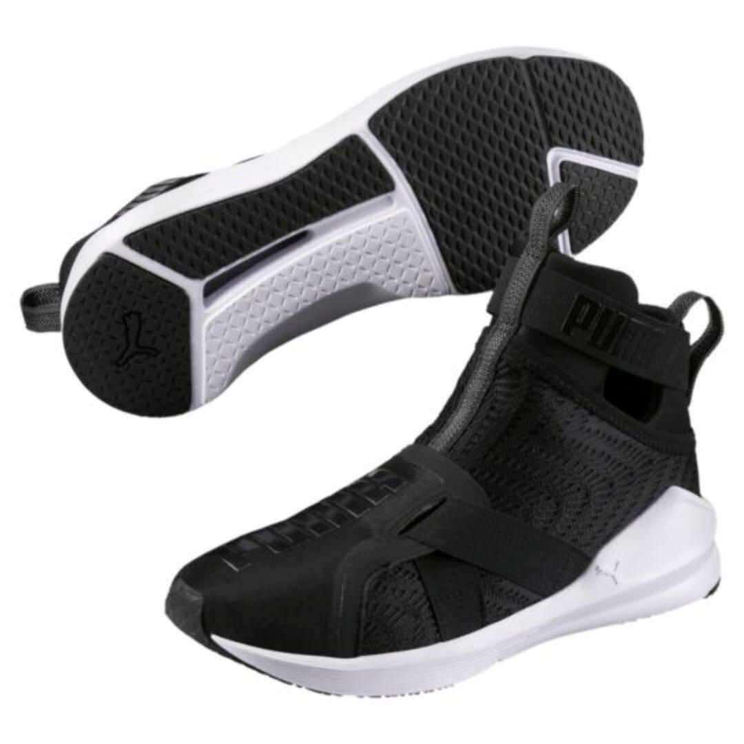 Puma Womens Fierce Strap Swirl Lifestyle Shoes