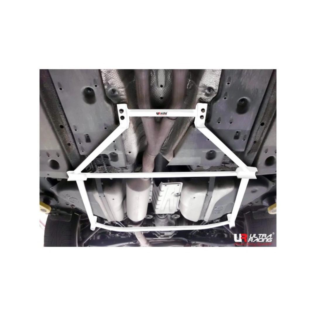 S60R ULTRA RACING 4POINTS FRONT LOWER BAR BRACE VOLVO S60 /'00-/'09 UR-LA4-193