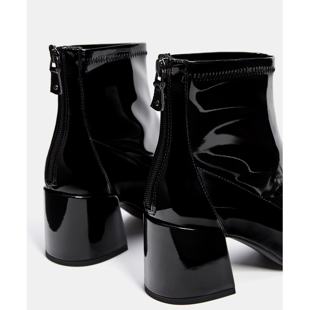 343fa1a7af0 Mid Heel Ankle Boots