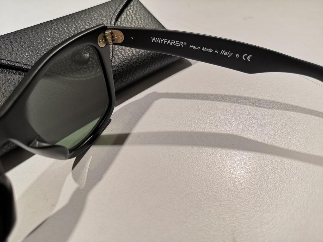 91e7109ef95 Ray-Ban Original Wayfarer RB2140F 901S 52 Matte Black  Brand New ...