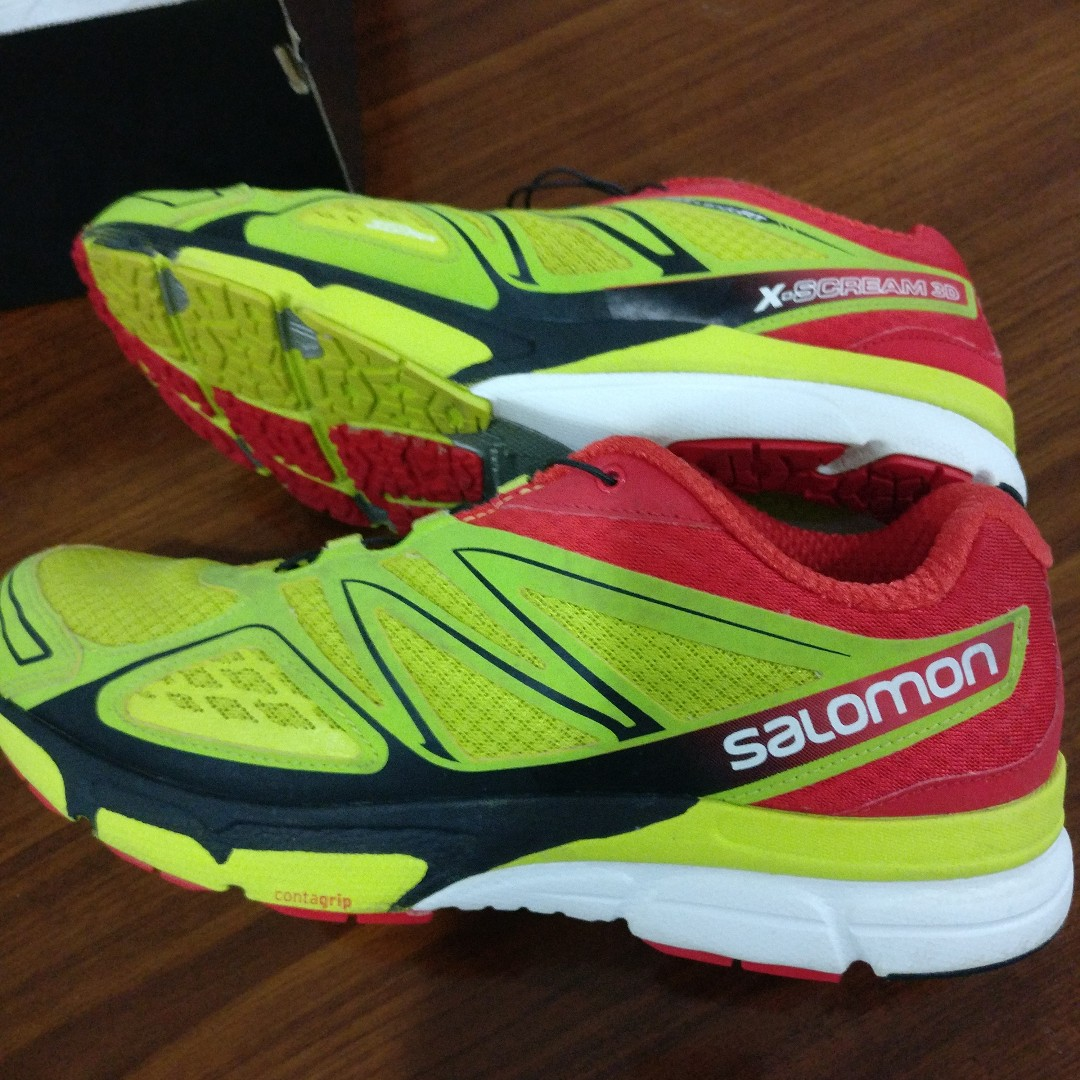 f8addded Salomon X-Scream 3D Running Shoes Size 10, Men's Fashion, Footwear ...