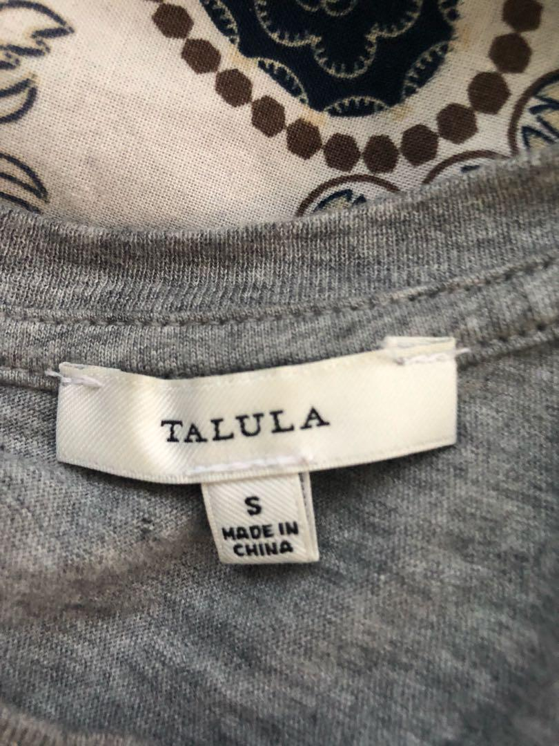 Talula graphic cropped tank top