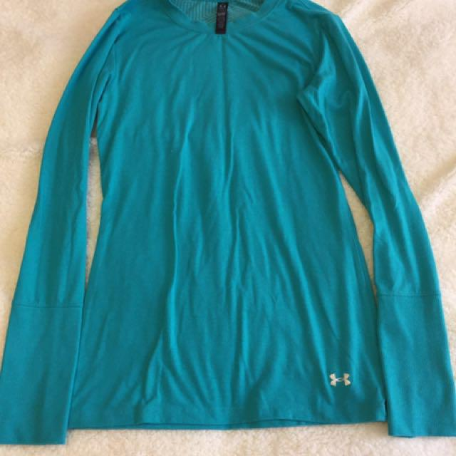 Under Armour Teal Long Sleeve Top