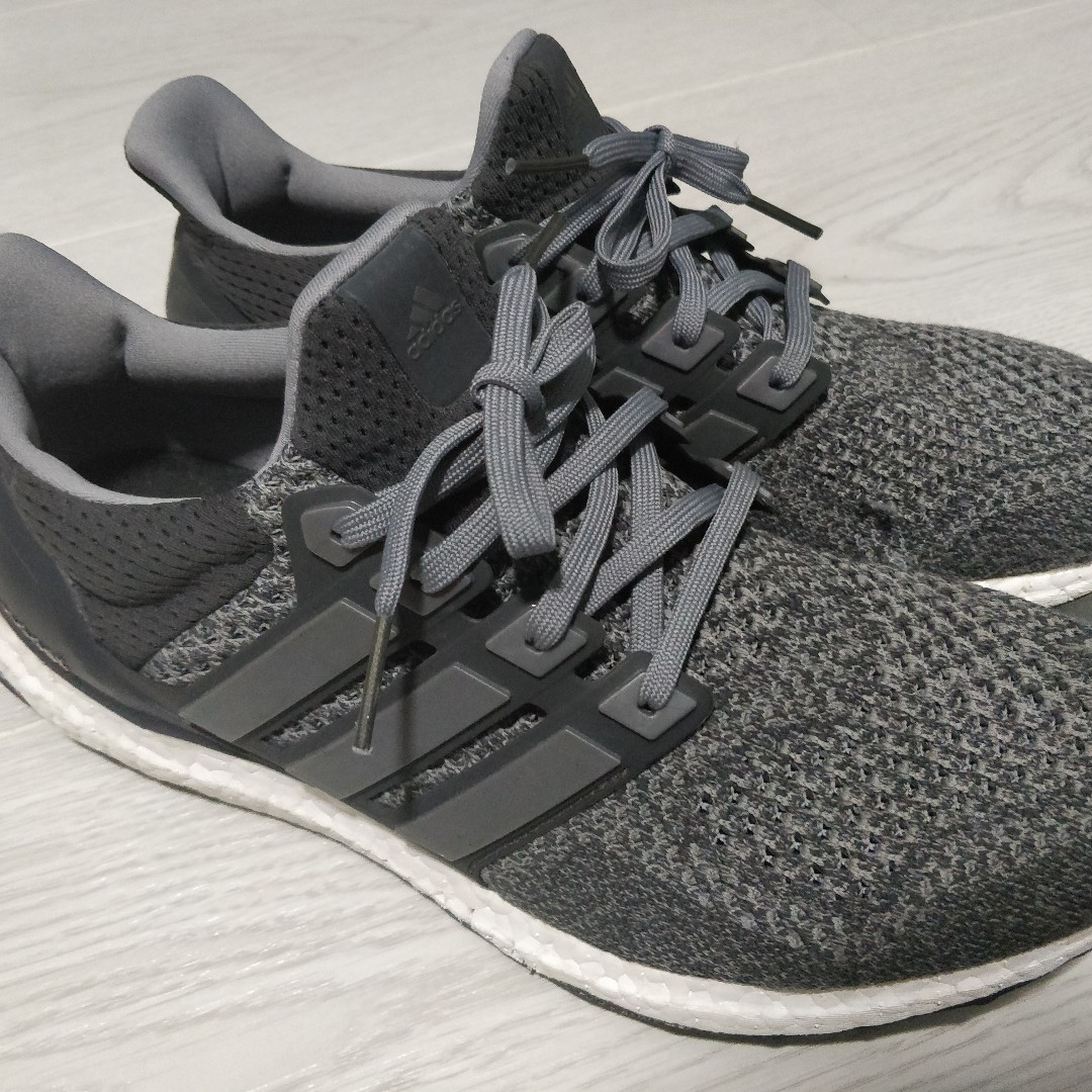 8fe4446cd352 US10.5) Adidas Ultra Boost Mystery Grey 1.0   Heather Ltd