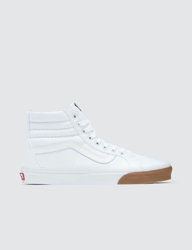 Vans Sk8-Hi Reissue White Gum Bumper US
