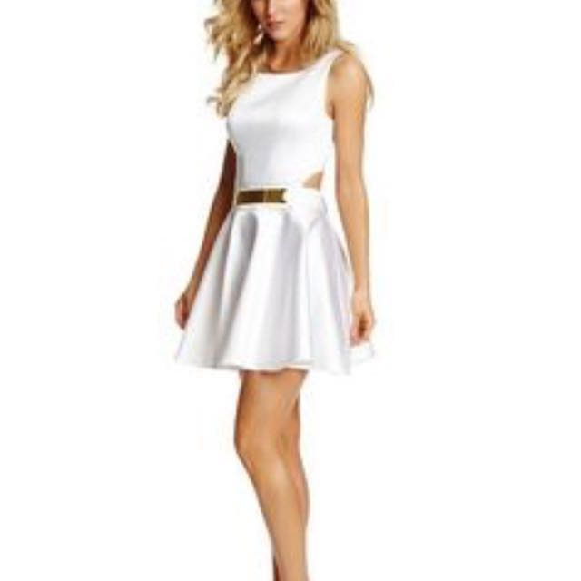 ac9bbd10ecd White Dress Guess By Marciano