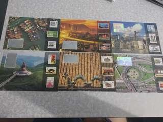 97郵展發行的明信片