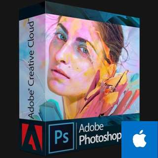 Adobe Photoshop CC 2018/ Illustrator / Premiere Pro ( Apple Mac ) (include Installation)