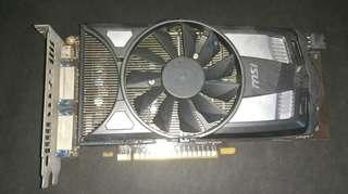 [最新限時6月優惠!!(搶手貨)]電腦升級中高階打機顯示卡名廠MSI Geforce GTX650 1GB(打機自用超順)
