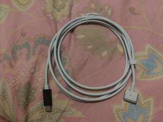 T 頭款 Macbook 充電線 (PD / USB)