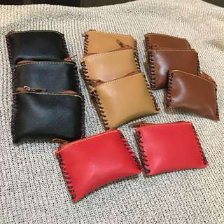Take All! Faux Leather Coin Purse