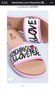 moschino slippers