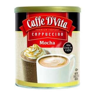 Caffe D'Vita Mocha Cappuccino Mix 2Lbs