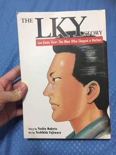 The LKY Story comic book