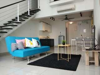 HOMESTAY 1~6Pax Family Duplex Suite@Scott Garden 5mins to MidValley