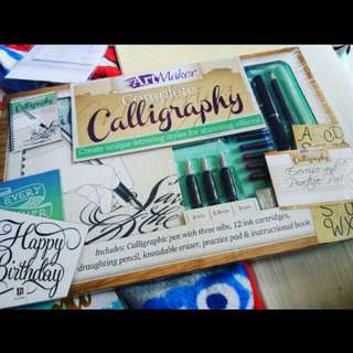 Complete Calligraphy Set