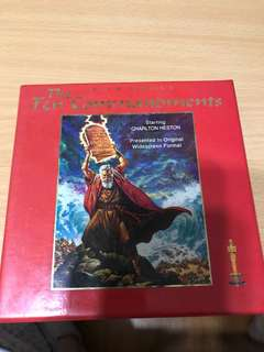 The Ten Commandments (35th anniversary collector's ed)
