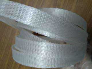 White translucent plastic strip-3 metres long
