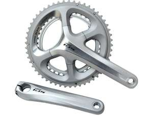 Used Shimano 105 5800 Silver Compact Crankset