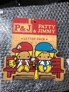 Sanrio Patty & Jimmy PJ 信插 1976