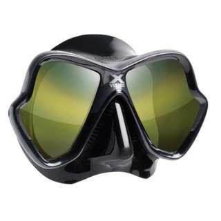 Mares X-Vision Ultra Liquidskin Gold Lens Scuba Mask