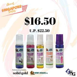 [SG Pets GSS] Nature's Specialties Foaming Facial Wash For Dogs & Cats
