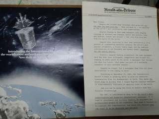 Herald Tribune launch brochure