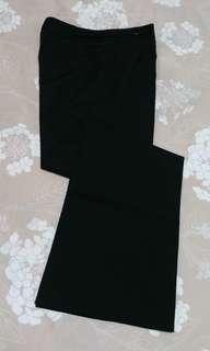giordano ladies黑色長褲