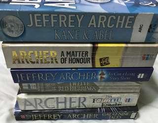 Jeffrey Archer 6-Book Bundle