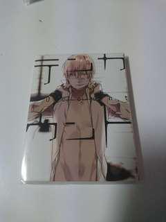Ten count mini memo sticky pad