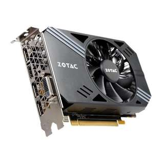 Preloved Zotac GTX 1060 3GB