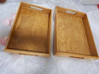 Wooden Tray (Rent )