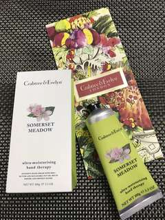 Crabtree & Evelyn Somerset Meadow Ultra-moisturizing  Hand Therapy