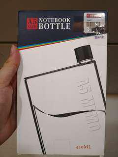 A5 Notebook water bottle BNIB