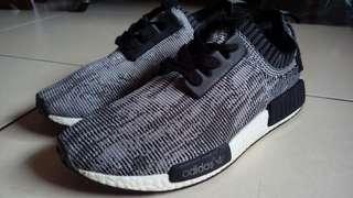 🚚 adidas nmd 黑白色迷彩經典慢跑鞋 us7 7.5 8 Nike Puma under armour