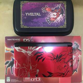 Nintendo 3DS XL Limited Edition Pokémon Y