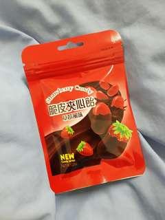 🚚 脆皮夾心飴草莓風味